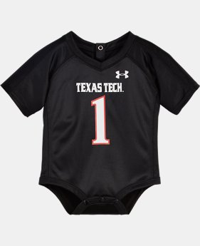 Boys' Newborn Texas Tech Replica Jersey Bodysuit