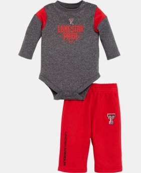 Boys' Newborn Texas Tech Lonestar Pride Bodysuit Pant Set