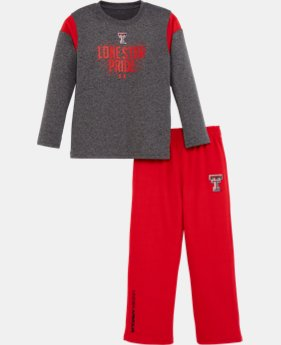 Boys' Toddler Texas Tech Lonestar Pride Pant Set   $31.99