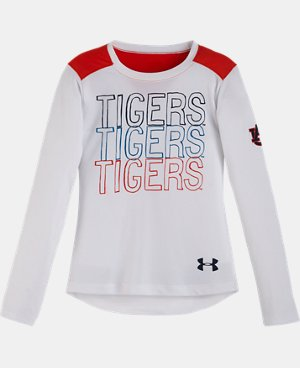 Girls' Toddler Auburn Tigers Long Sleeve LIMITED TIME: FREE U.S. SHIPPING  $22.99