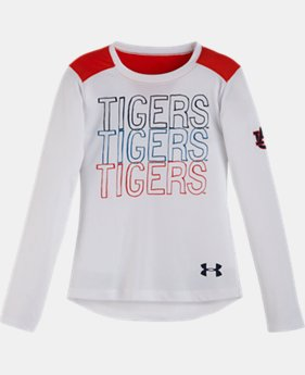 Girls' Pre-School Auburn Tigers Long Sleeve