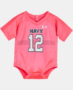 Girls' Newborn Navy Replica Jersey Bodysuit   $25.99