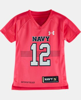Girls' Toddler Navy Replica Jersey   $31.99