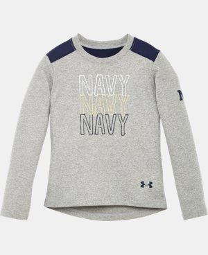 Girls' Toddler Navy Long Sleeve LIMITED TIME: FREE U.S. SHIPPING  $22.99