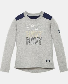 Girls' Pre-School Navy Long Sleeve