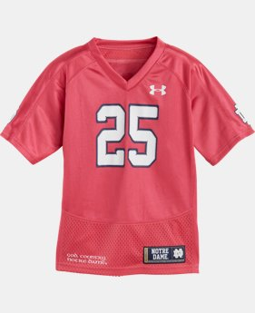 Girls' Toddler Notre Dame Replica Jersey