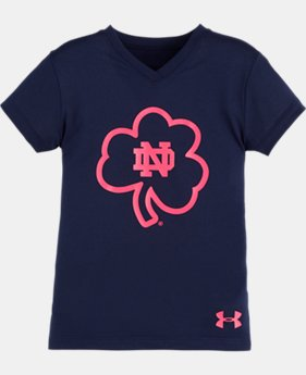 Girls' Pre-School Notre Dame Shamrock T-Shirt
