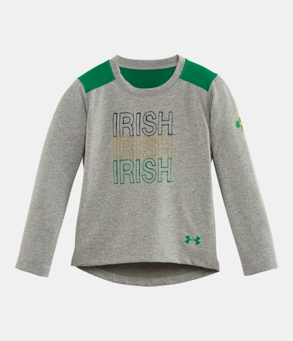 Girls Toddler Notre Dame Long Sleeve Under Armour Us