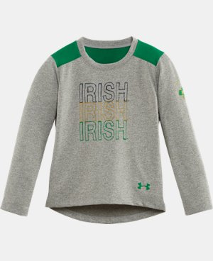 Girls' Pre-School Notre Dame Long Sleeve LIMITED TIME: FREE U.S. SHIPPING 1 Color $22.99