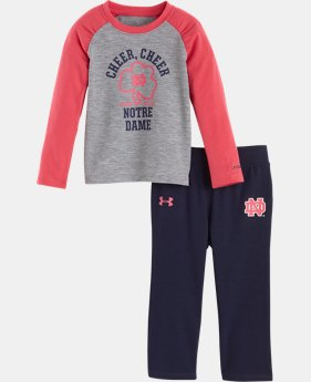Girls' Infant Notre Dame Cheer Cheer Pant Set