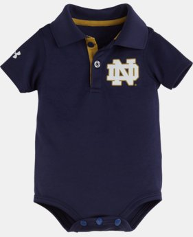 Boys' Newborn Notre Dame Polo Bodysuit  1 Color $16.99