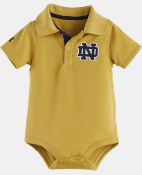 Boys' Newborn Notre Dame Polo Bodysuit LIMITED TIME: FREE U.S. SHIPPING 1 Color $16.99