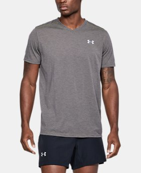 Men's UA Streaker V-Neck  1  Color Available $34.99
