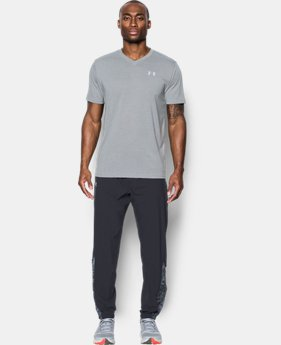 Best Seller Men's UA Threadborne Streaker V-Neck  2 Colors $29.99