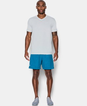 Men's UA Streaker Run V-Neck T-Shirt LIMITED TIME: FREE SHIPPING 1 Color $26.99 to $34.99