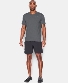 Men's UA Threadborne Streaker V-Neck  1 Color $24.99