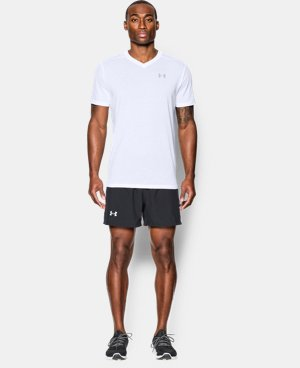 Men's UA Streaker Run V-Neck T-Shirt  4 Colors $17.24 to $22.99