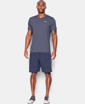 Men's UA Streaker Run V-Neck T-Shirt  3 Colors $22.99 to $29.99