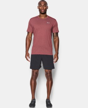 Men's UA Streaker Run V-Neck T-Shirt  1 Color $29.99