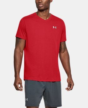 Men's UA Streaker V-Neck  1  Color Available $22.49