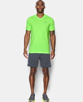 Men's UA Threadborne Streaker V-Neck LIMITED TIME OFFER 1 Color $20.99