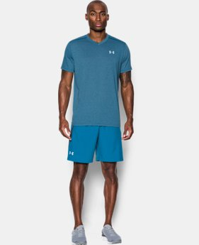 Men's UA Streaker Run V-Neck T-Shirt   $22.99 to $29.99