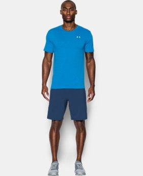 Men's UA Threadborne Streaker V-Neck  1 Color $17.24