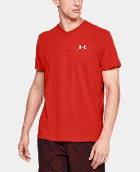 Men's UA Streaker V-Neck  1  Color Available $29.99