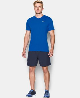 Men's UA Streaker Run V-Neck T-Shirt LIMITED TIME: FREE SHIPPING  $29.99