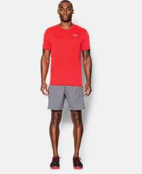 Men's UA Streaker Run V-Neck T-Shirt  1 Color $22.99