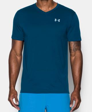 男子UA Threadborne Streaker V領T恤