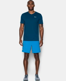 Men's UA Threadborne Streaker V-Neck  1 Color $20.99 to $22.99