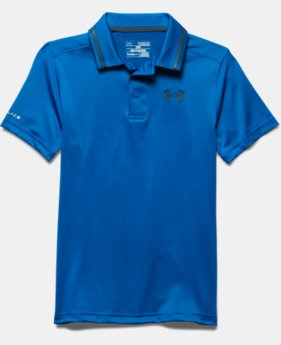 Boys' UA Coldblack Address Polo *Ships 4/5/2016*