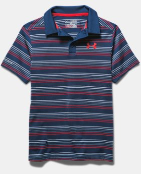 Boys' UA coldblack® Draw Polo Shirt