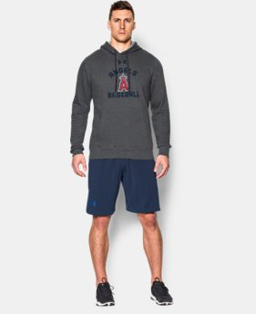 Men's Los Angeles Angels UA Rival Fleece Hoodie