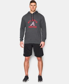 Men's Atlanta Braves UA Rival Fleece Hoodie
