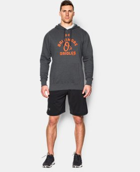 Men's Baltimore Orioles UA Rival Fleece Hoodie