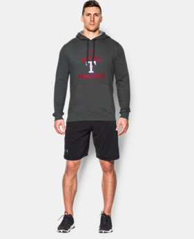 Men's Texas Rangers UA Rival Fleece Hoodie