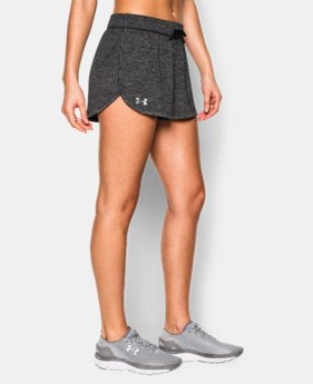 Best Seller Women's UA Tech™ Short - Twist LIMITED TIME: FREE SHIPPING 1 Color $24.99