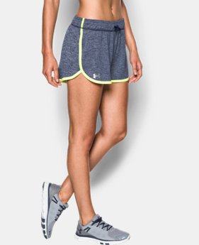Best Seller Women's UA Tech™ Short - Twist LIMITED TIME: FREE SHIPPING 7 Colors $24.99