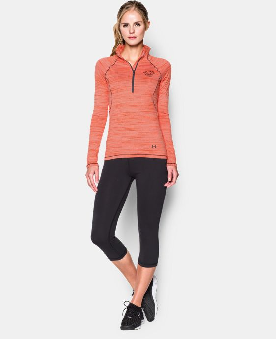 Women's Baltimore Orioles UA Tech™ ½ Zip  1 Color $33.74