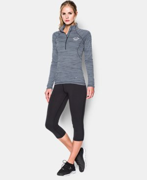 Women's UA Tech™ New York Yankees 1/2 Zip  1 Color $33.74