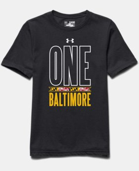 Boys' UA One Baltimore T-Shirt