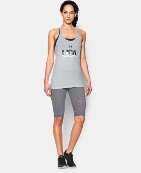 New Arrival Women's UA USA Tank LIMITED TIME: FREE SHIPPING 1 Color $24.99