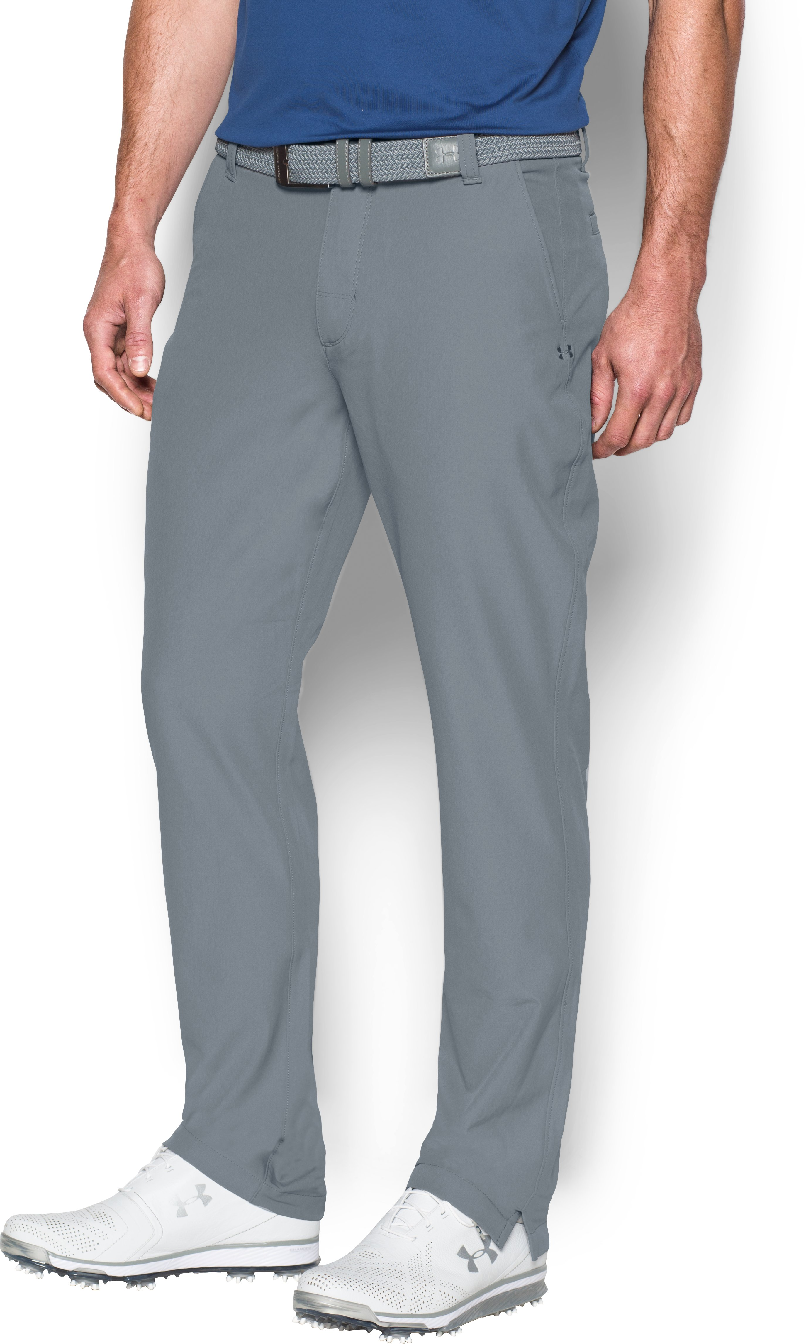 Men's ColdGear® Infrared Match Play Pants — Tapered Leg, Steel