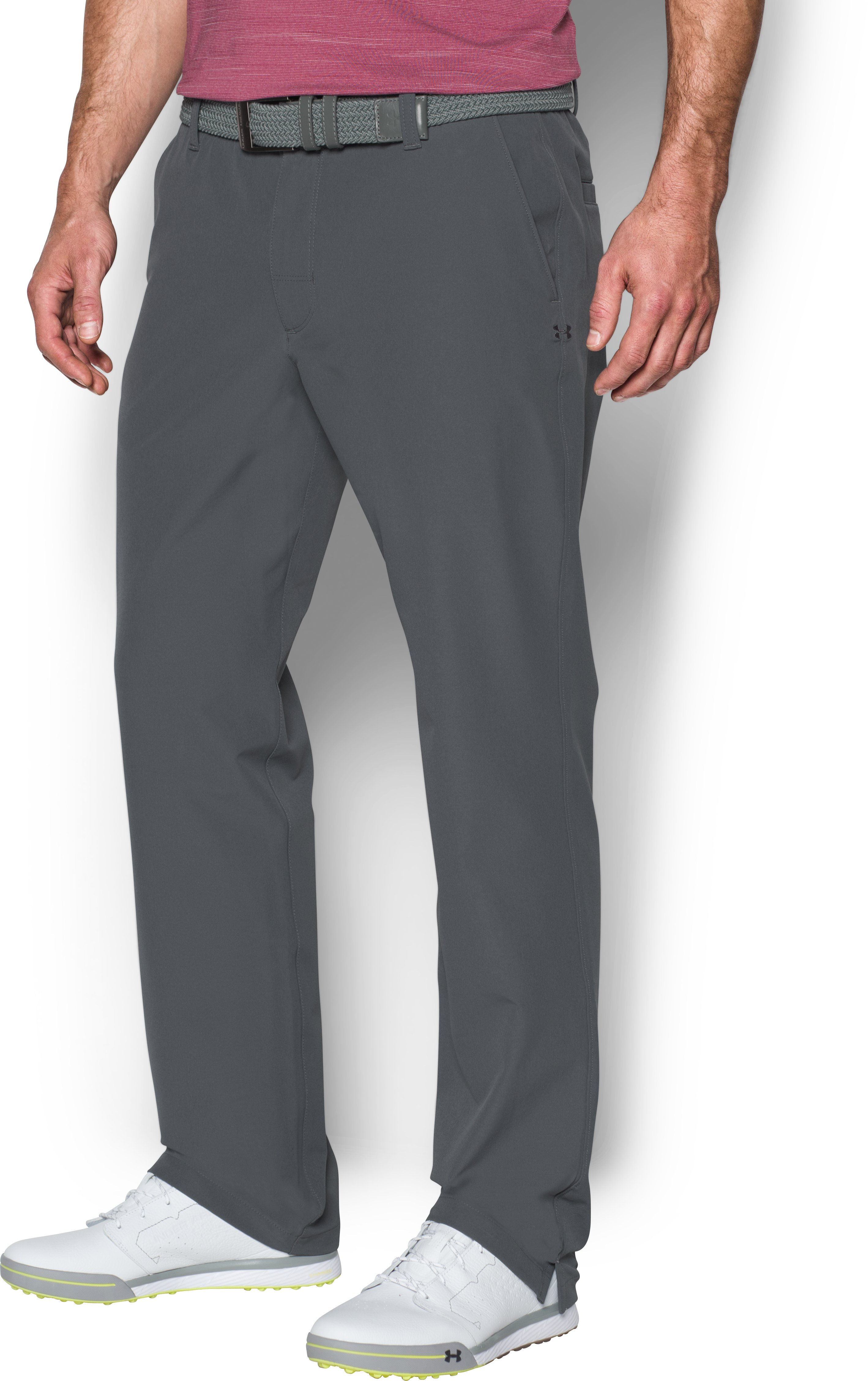 Men's ColdGear® Infrared Match Play Pants — Tapered Leg, RHINO GRAY, undefined
