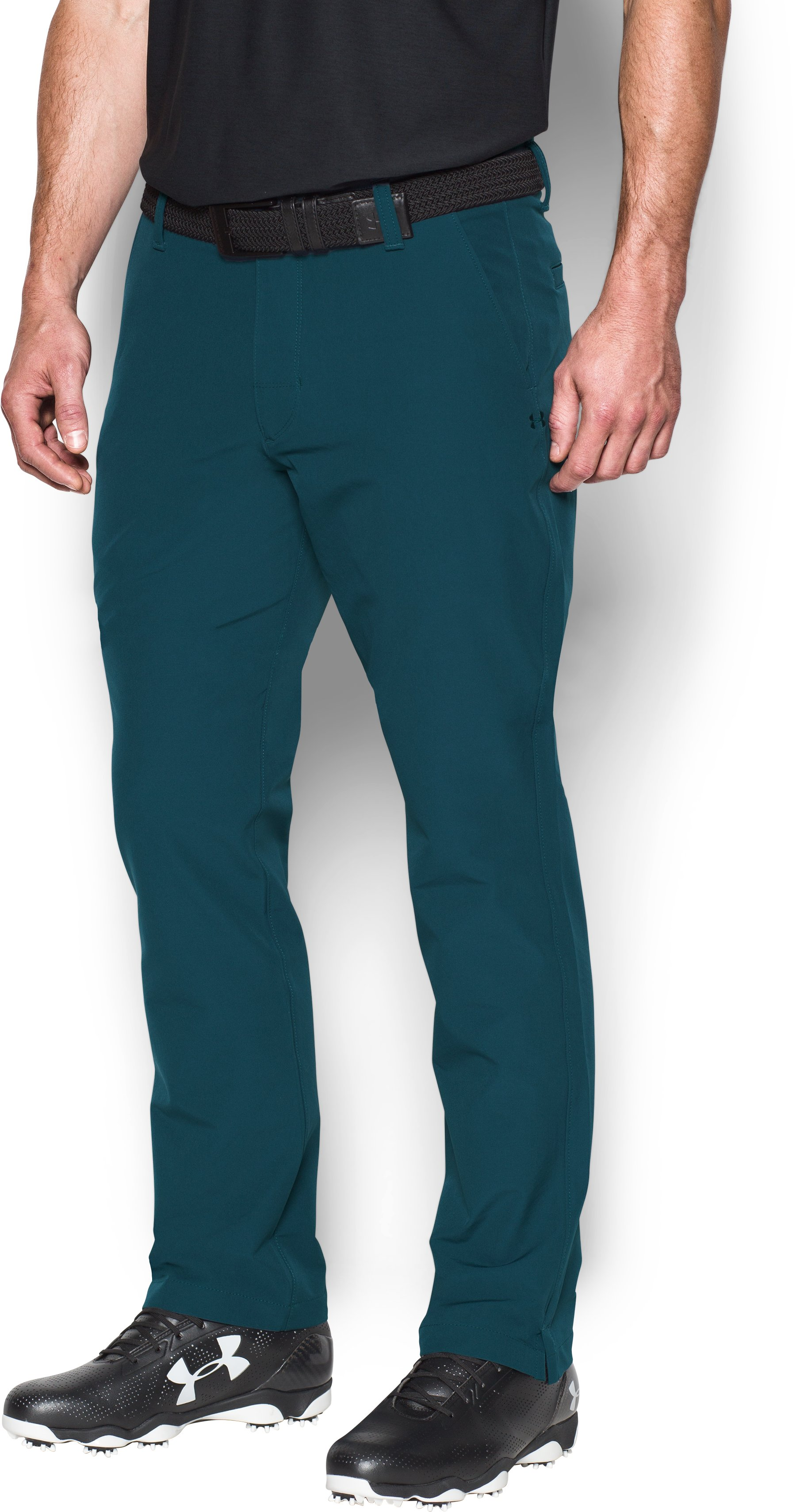 Men's ColdGear® Infrared Match Play Pants – Tapered Leg, NOVA TEAL, zoomed image