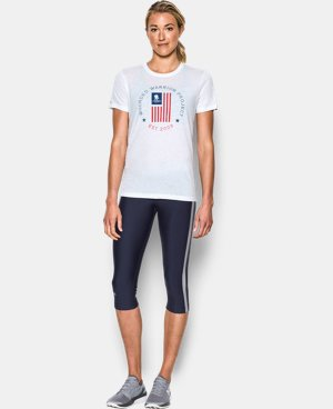 Women's UA Freedom Flag Short Sleeve T-Shirt LIMITED TIME: FREE U.S. SHIPPING 1 Color $29.99
