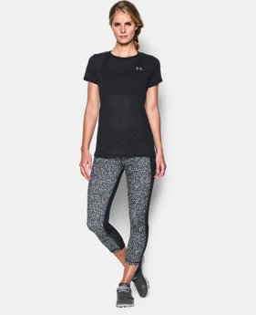 Women's UA Tech™ Slub T-Shirt  1 Color $20.99 to $27.99