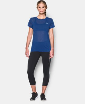 Women's UA Tech™ Slub T-Shirt LIMITED TIME: FREE SHIPPING 1 Color $27.99